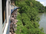 Train along River Kwai, Kanchanaburi