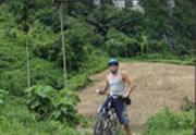 Escursioni Bicicletta a Koh Yao Yai Island vicino Phuket, Thailand