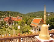 Wat Chalong - Phukets most popular Temple
