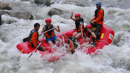 Сплав по рекам Тайланд