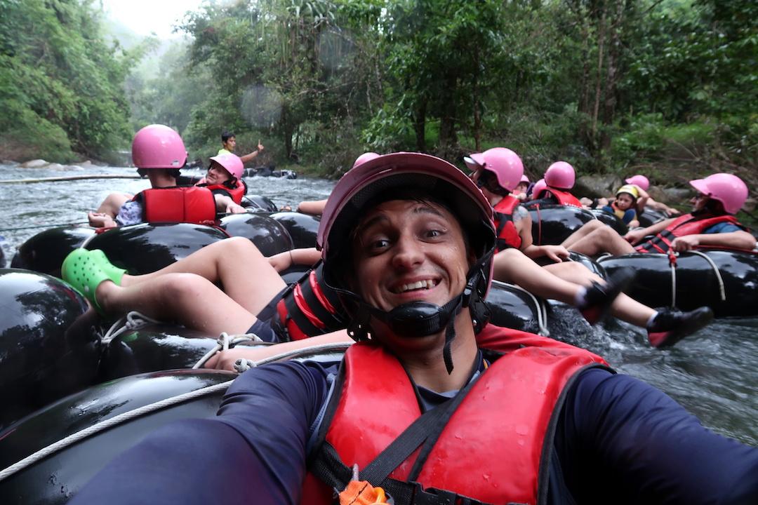 сплав по реке Капонг