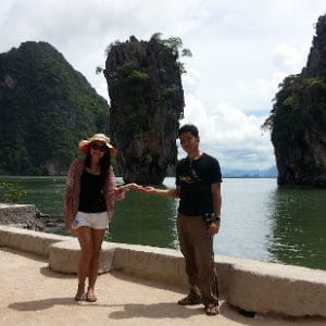James Bond Island Visitors