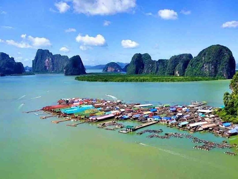 Koh Panyee Fishing Village
