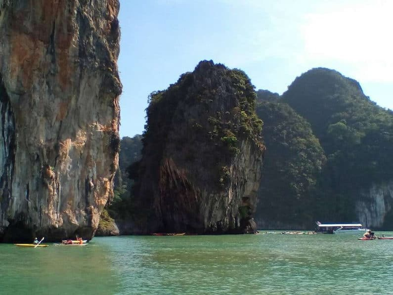 Private Phuket Sea Canoe Tour - Kayaking at Koh Panak