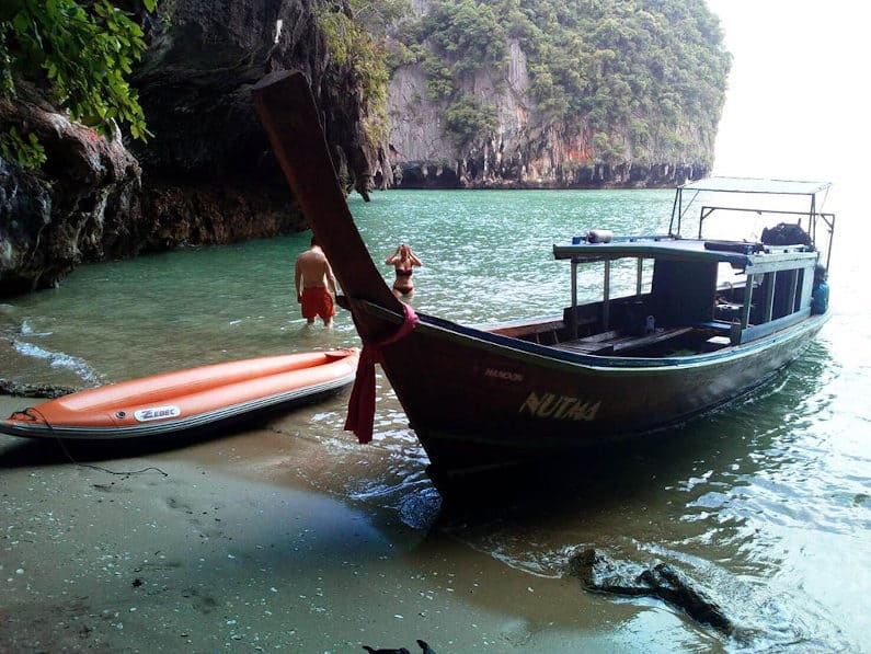 Private Phuket Sea Canoe Tour - Private Little beaches