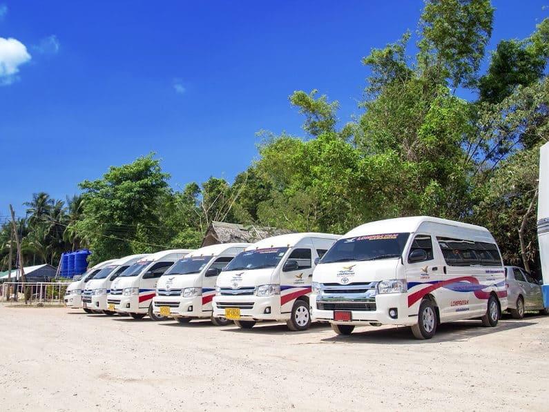 Lomprayah Mini Buses