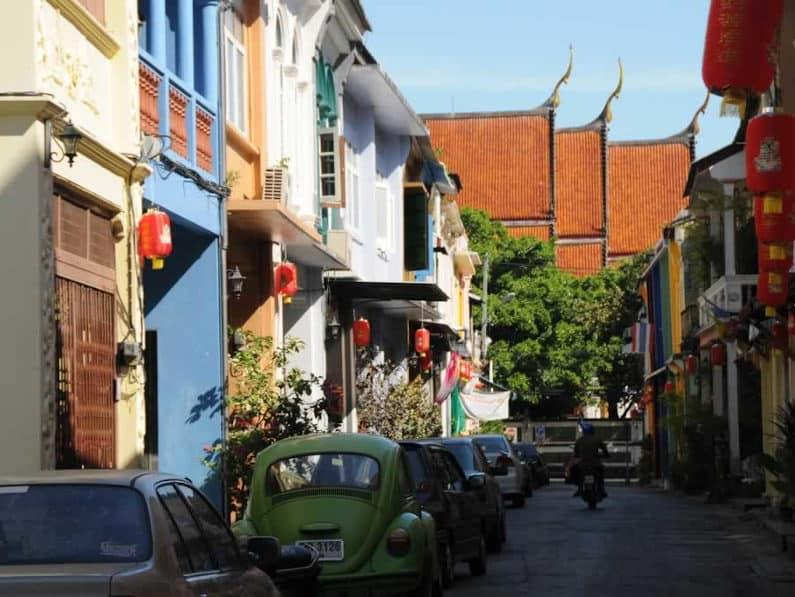 Soi Romanee in Old Phuket Town