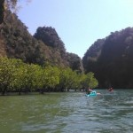 Krabi Kayaking Tours to Ao Thalane Bay