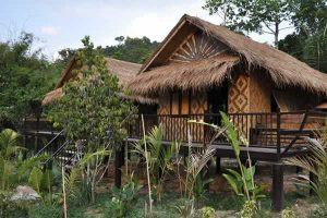 Bamboo Cottage - Wareerak Hot Spring Resort & Sap
