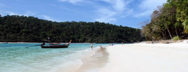 Beach at Koh Rok - Koh Lanta