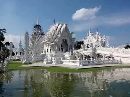 Temple blanc de Wat Rong Khun, Chiang Rai
