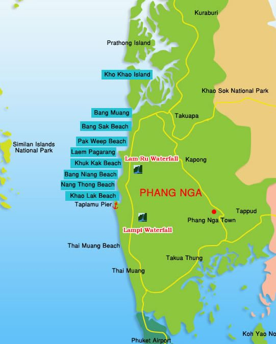 Category: Maps of Thailand | Easy Day Thailand Tours