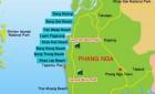 Khao Lak Map