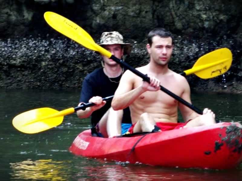 Kayaking in Krabi, Borthor