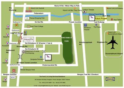 Map The Park 9 -Ladkrabang