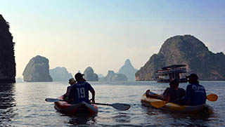 Krabi Activities - Phang Nga Bay Sea Canoe