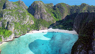 "Maya Bay ""The Beach"" - Phi Phi Islands. Krabi, Thailand."