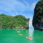Sea Canoe during a Phang Nga Bay Tour