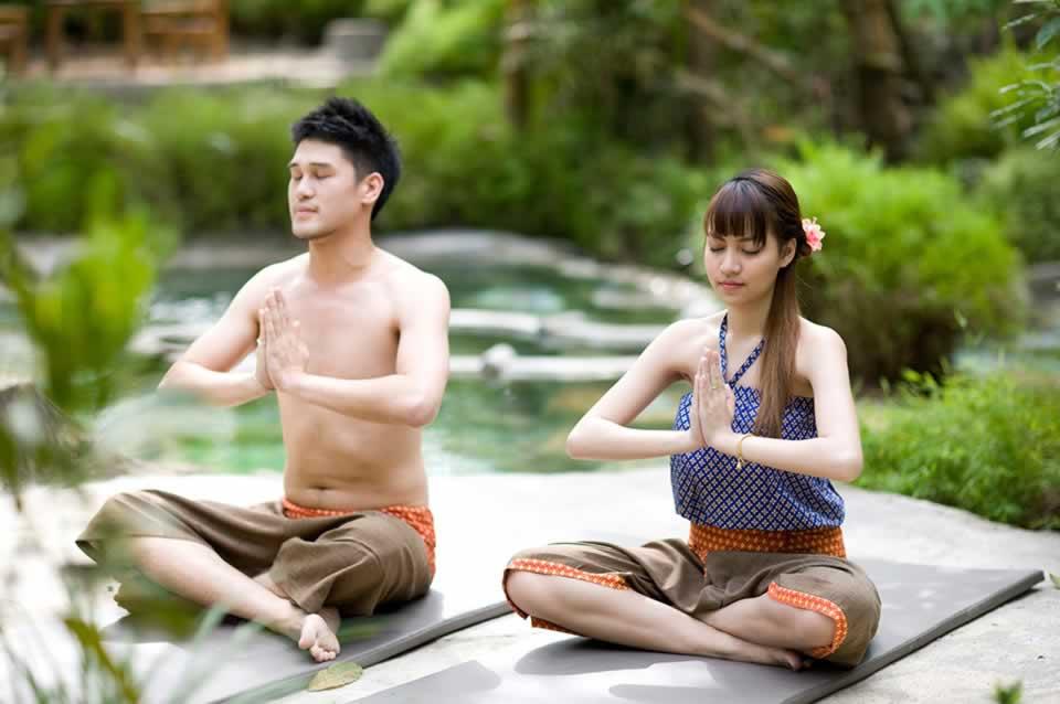 Thai Yoga at Waree Raksa Hot Spring Spa Krabi
