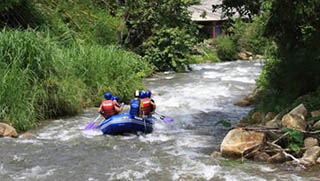 Krabi Activities - White Water Rafting