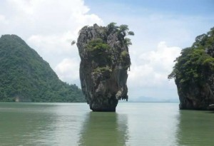 Visit James Bond Island with a Phang Nga Bay Sea Canoe Tour