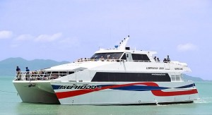 From Krabi to Koh Phangan with Bus & High Speed Ferry.