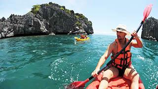 Koh Samui Activities - Koh Samui Kayaking