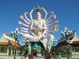 Koh Samui City Tours - Wat Laem