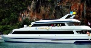 How to Get to Phi Phi Island - Phi PHi Ferry Ao Nang Princess