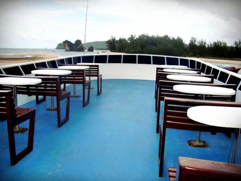 Krabi Ferry - Top Deck