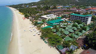 Koh Samui Hotels - Lamai Coconut Beach Resort
