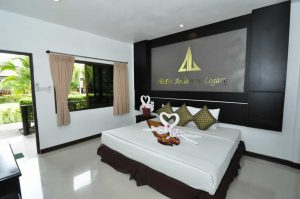 Phi Phi Andaman Legacy Standard bungalows double bed