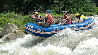 Phuket Activities - White Water Rafting