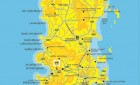 Map of Phuket Island