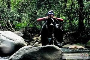 Kapong River Tubing - Flat Tire