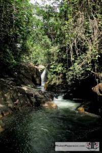 Kapong River Tubing - Waterfall