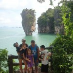 Private Krabi Phang Nga Bay Tour - Visit at James Bond Isand
