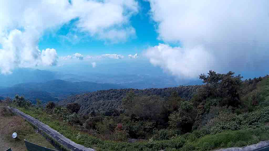 Chiang Mai, Doi Inthanon King Pagoda viewpoint