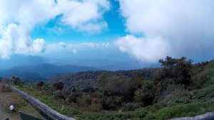 Doi Inthanon - Chiang Mai, King Pagoda viewpoint