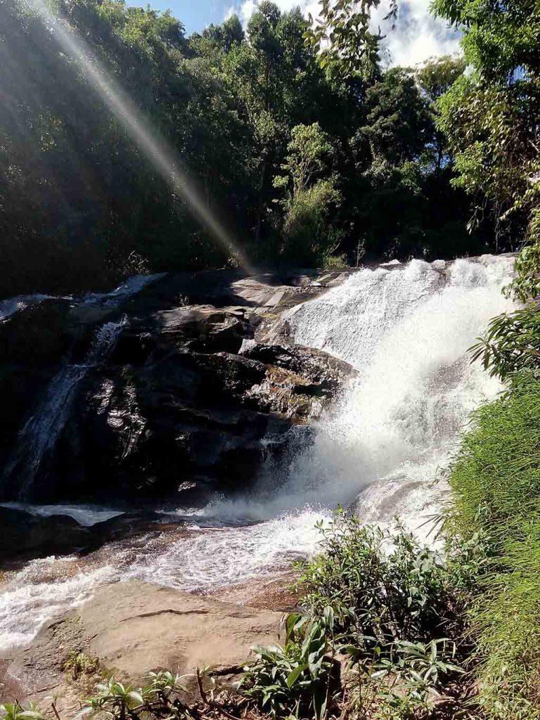 Chiang Mai, Doi Inthanon - Siri Phum Waterfall cascade
