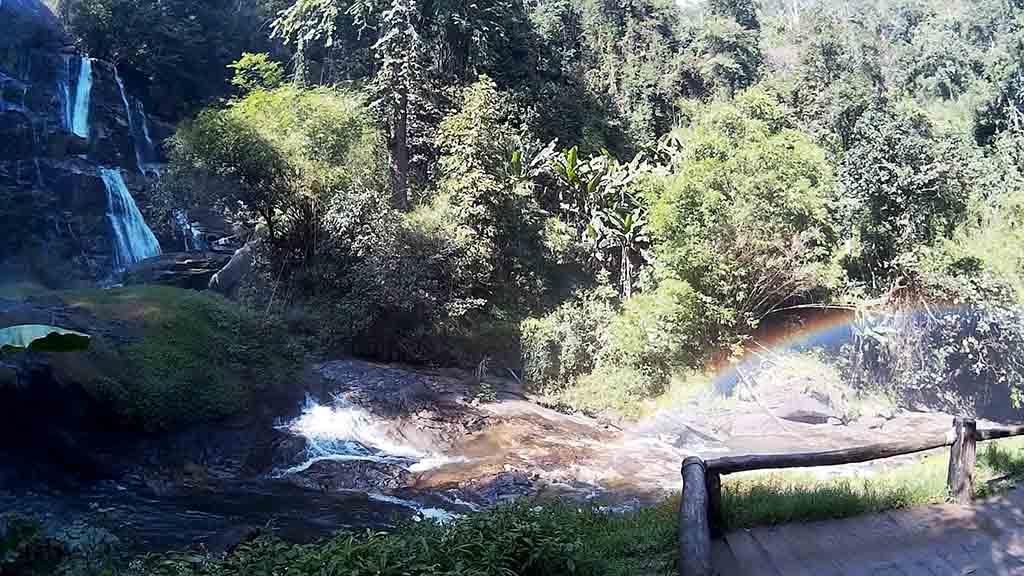 Chiang Mai, Doi Inthanon - Siri Phum Waterfall cascades