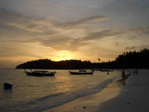 Koh Lipe Island Sunset