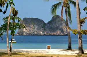 Views on Koh Ngai Island in Krabi, Thailand