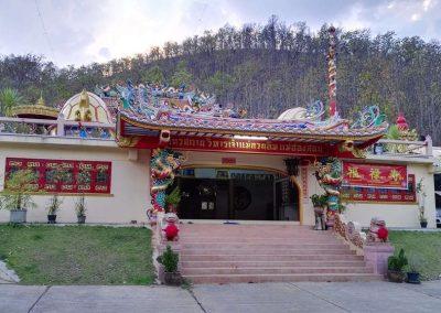 Chiang Mai - Mae - Hong - Son - chinese temple
