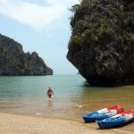 Koh Lanta Tours - Kayaking at Koh Talabeng