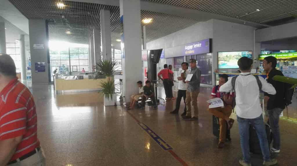 Krabi Airport - Arrival Hall Meeting Point