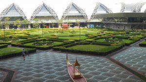 Suvarnabhumi Airport Garden