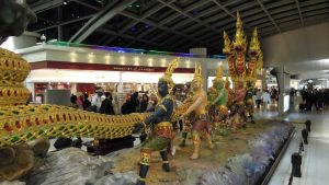 Suvarnabhumi Airport - The Three Headed Dragon