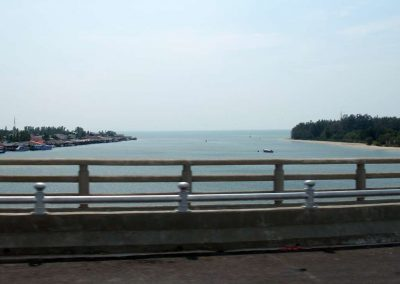 View from Lanta Bridge