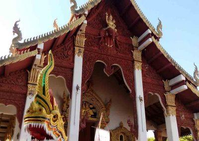 chiang mai,wiang kum kam-big temple